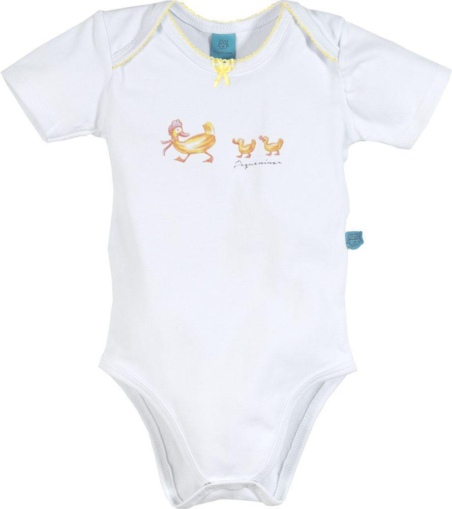 Pijama bebê manga curta fanfarra