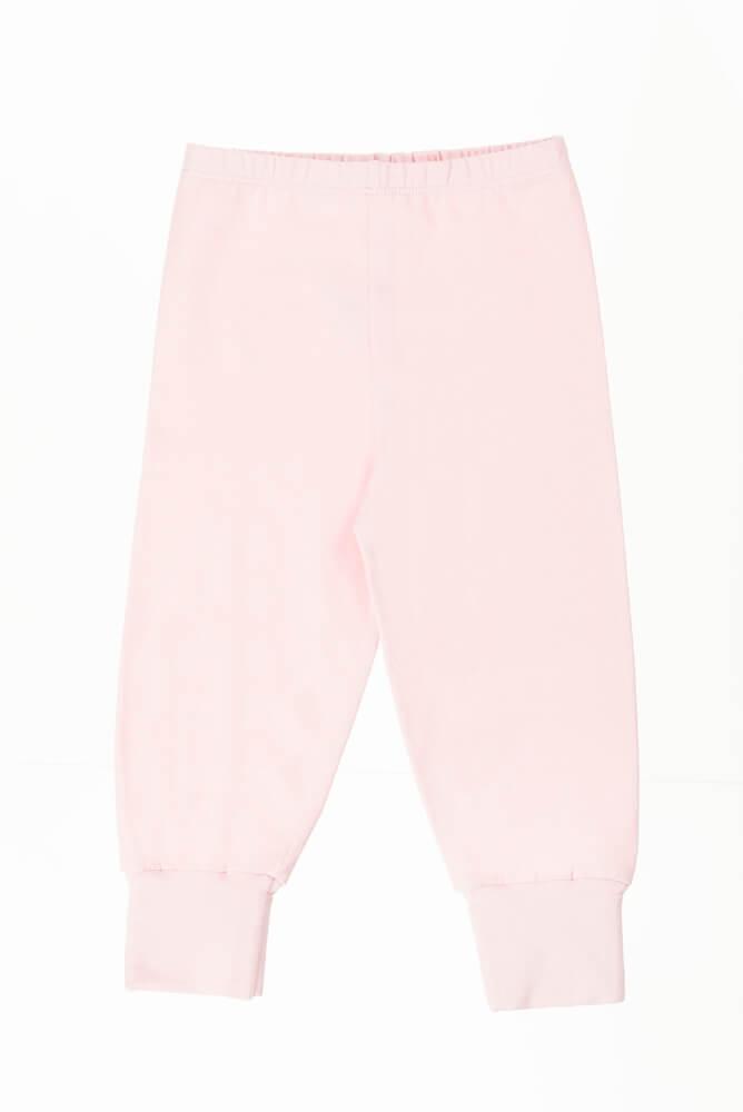 pijama bebê menina calça e body manga longa Amigos na floresta