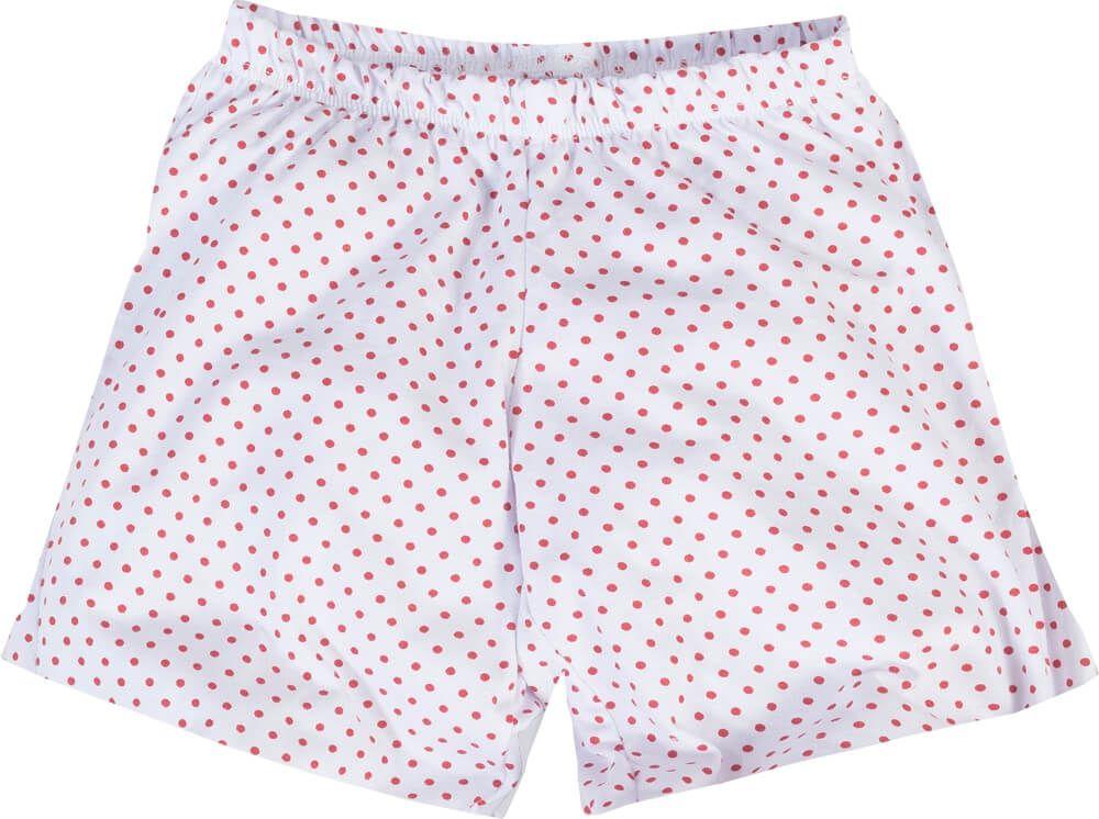 Pijama menino/menina manga curta papai noel