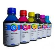 6 Unidades de  250ml Tinta Epson Corante Inktec Profeel  E0017 T50 L800 L805 L850 1800