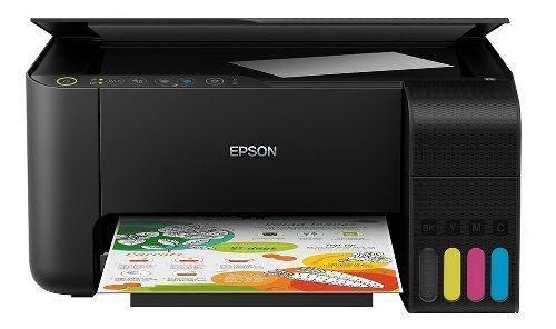 Impressora Multifuncional Epson L3150 Com Tinta Pra Impressão Em Papel Arroz Comestível