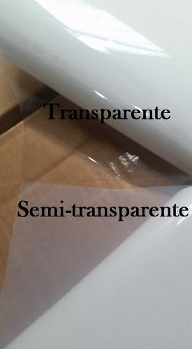 Vinil Adesivo A4 Prova D´agua Semi Transparente 20 Unidades