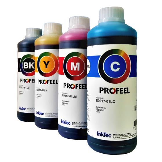 4 Litros Tinta Inktec Profeel Para Epson WF3720