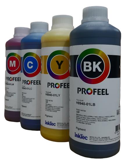 4 Litros Tinta Pigmentada Hp H8940 8600 8610 8720 Inktec Profeel