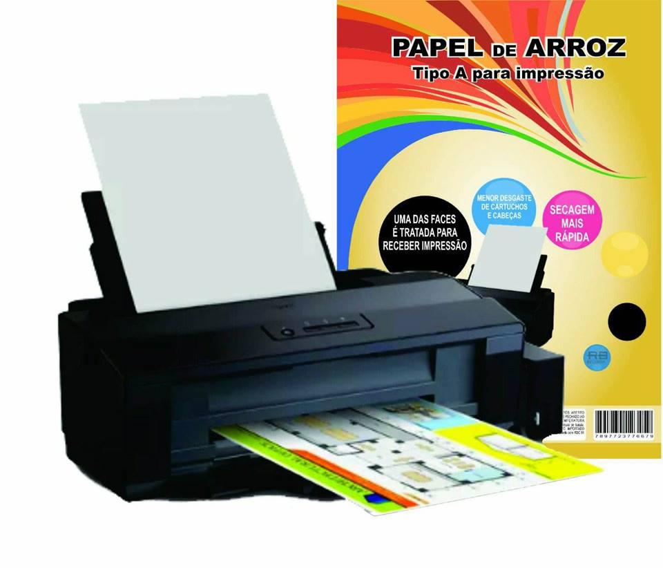 Impressora Epson L1300 A3 Com Tinta Comestível Para Papel Arroz 110v