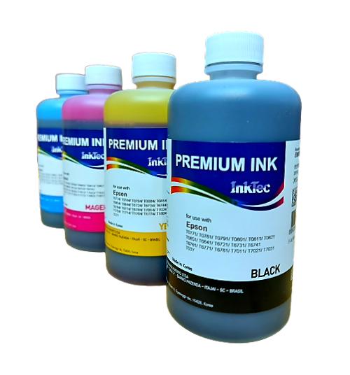 Tinta Epson Corante Inktec Premium Ink - 4 Unidades de 250ml I L355 L365 L375 L380 L395 L396 L3110 L3150 L4150 L4160