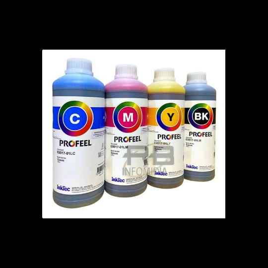 Tinta Epson Corante Inktec Profeel - L120 L355 L365 L375 L380 L395 L396 L3110 L3150 L4150 L4160 E0017 - 4 Litros