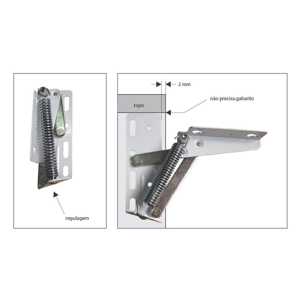 Articulador Point Lift 85° Par para Portas Basculantes