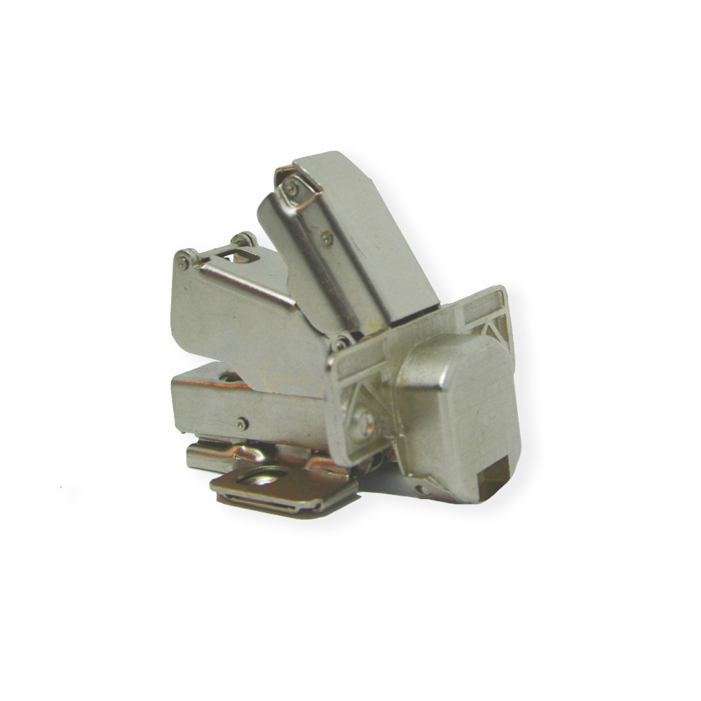 Dobradiça POINT 165º Semi-Curva com Softclosing Calço H0