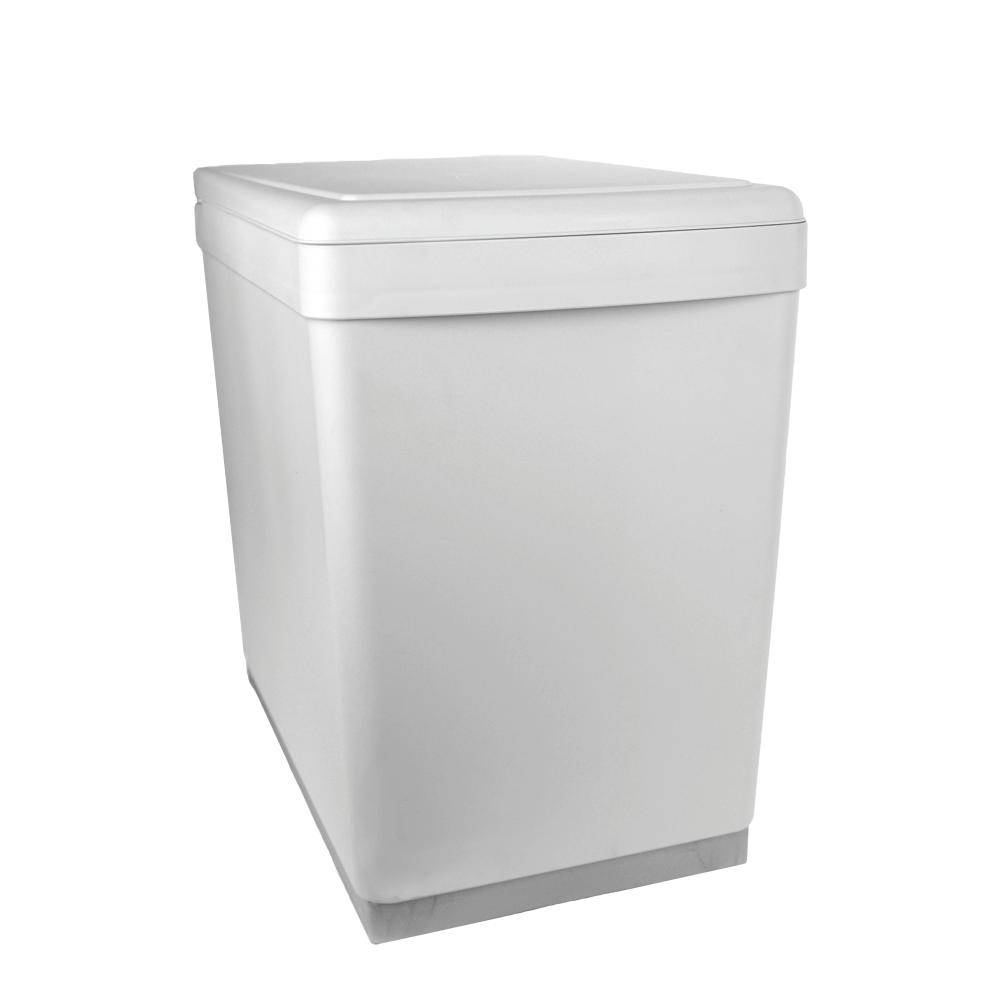 Lixeira Dupla Ecológica Semi Automática Point 2x7,5L