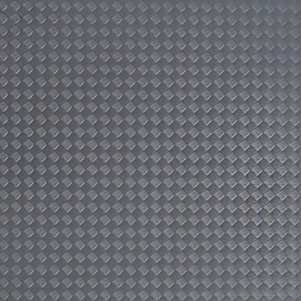 """Manta Antiderrapante Point """"Trançado"""" Cinza Escuro 650mm - Metro"""