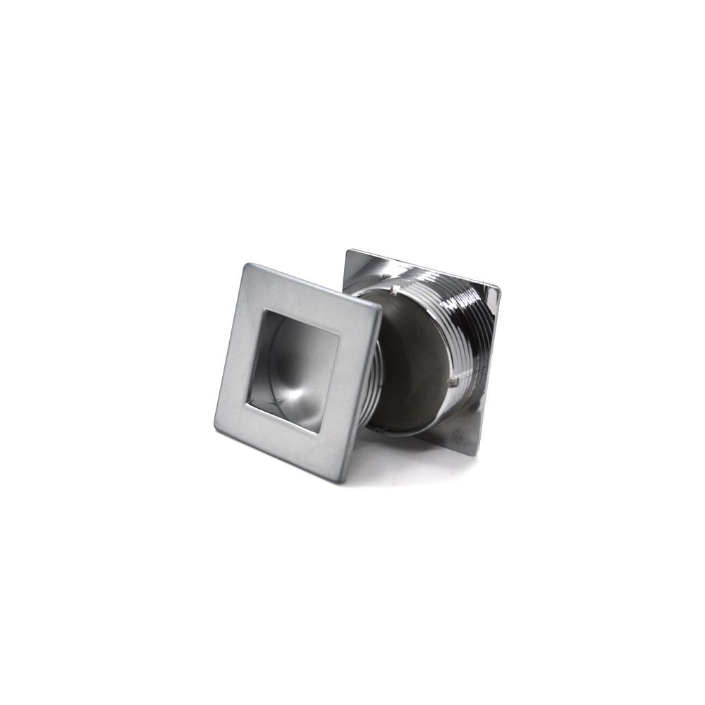 Puxador Concha Quadrado Point 35mm