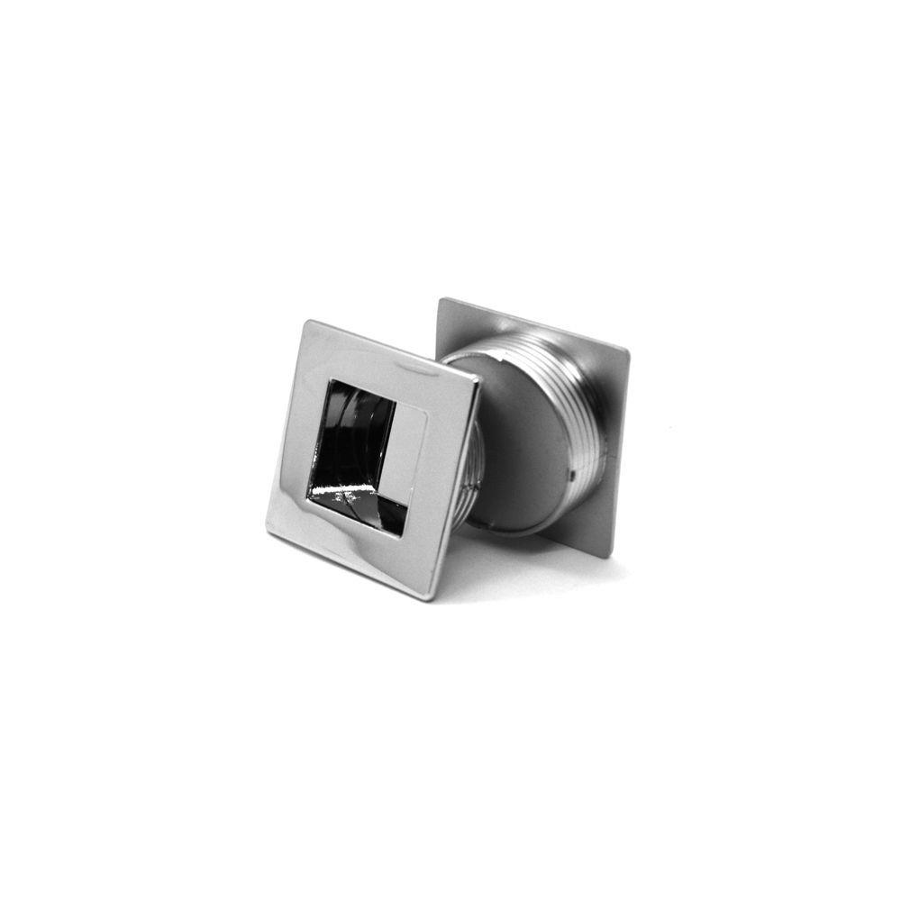 Puxador Concha Quadrado Point 40,5mm