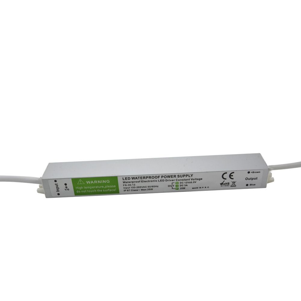 Transformador Eletrônico Point 25W Ip67 12v 110-240v 50-60hz