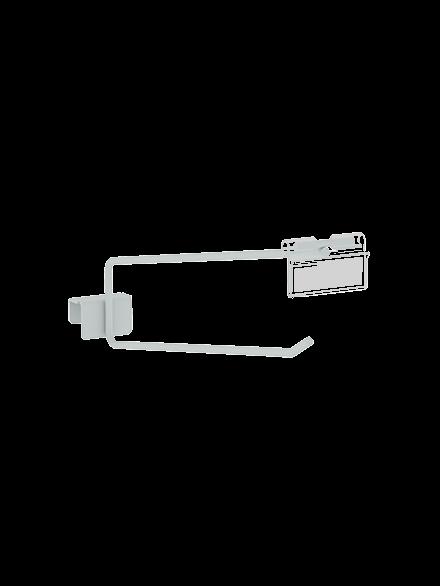 Gancheiras Simples c/ Porta Preço 0,30m Kit c/ 10- Amapá