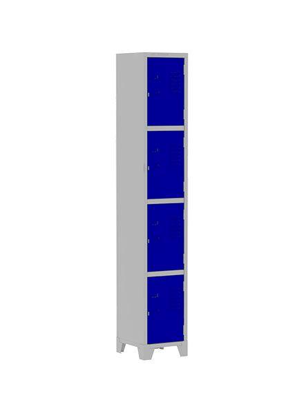 Roupeiro Funcional com 4 Portas Pequenas 1,96 - Amapá
