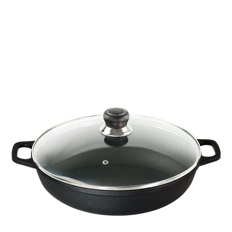 Paella com tampa de vidro 7L Santana