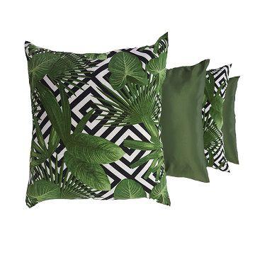 Capa pra Almofada Sofá Decorativa Verde Preço 6 unid 44x44 ...