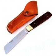 Canivete artesanal sertanejo tradicional em aço carbono