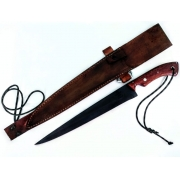 Faca artesanal templo das facas modelo sk savage12 polegadas
