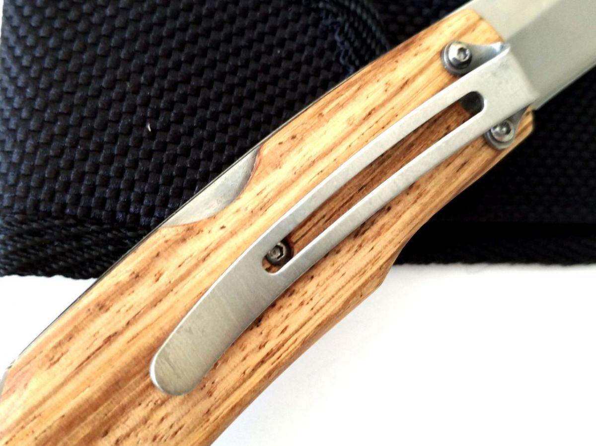 Canivete esportivo trento hunter 140 aço inox 420 C