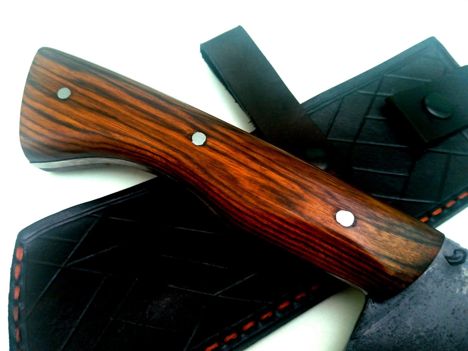Cutelo artesanal galo veio modelo grachev full tang