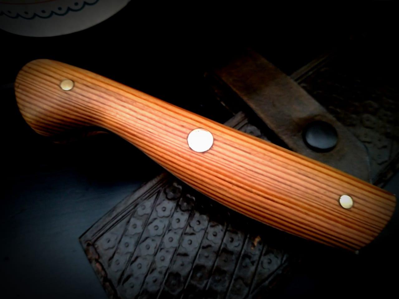 Cutelo artesanal tradicional  full tang