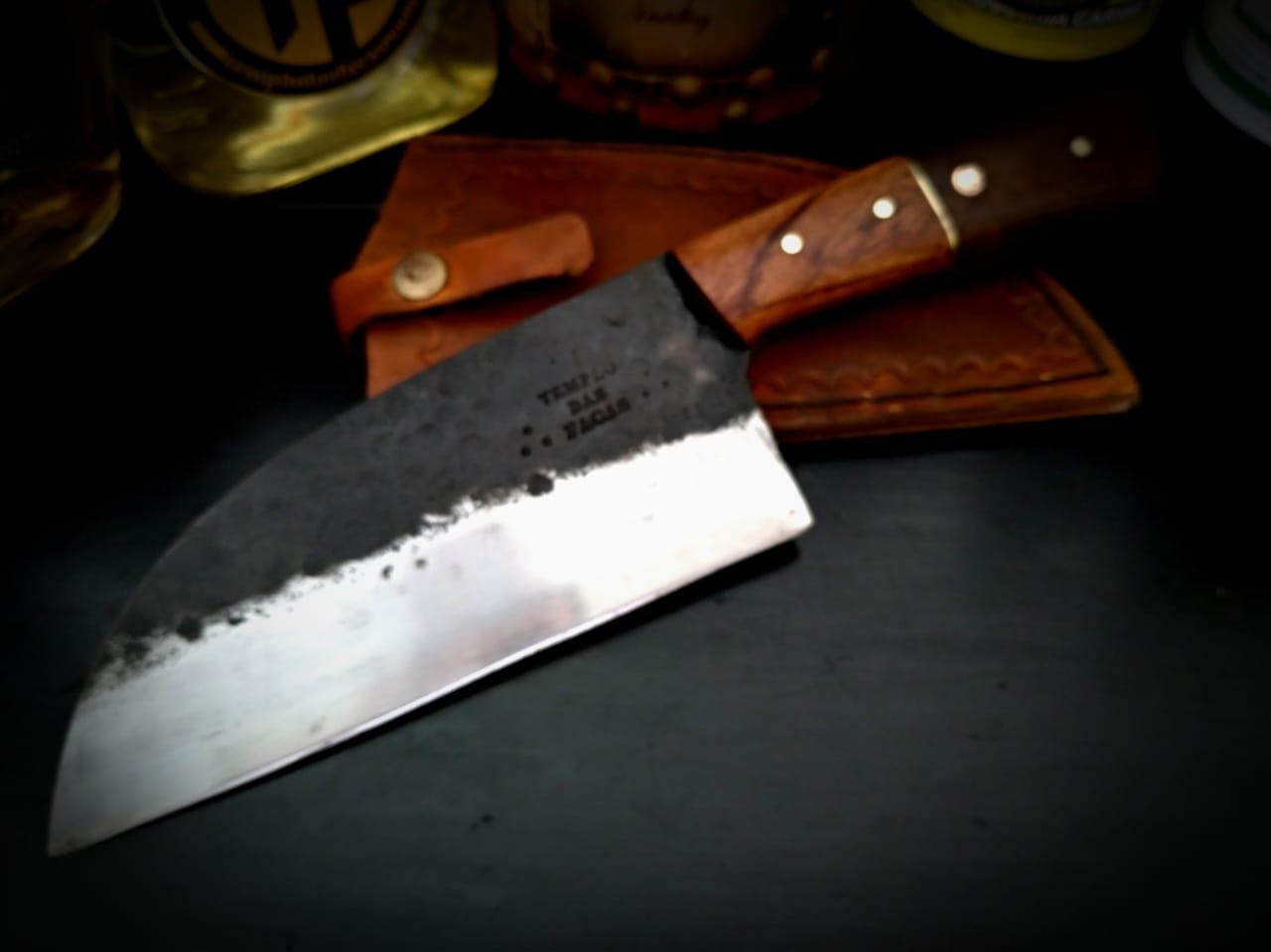 Faca artesanal chef saratov full tang
