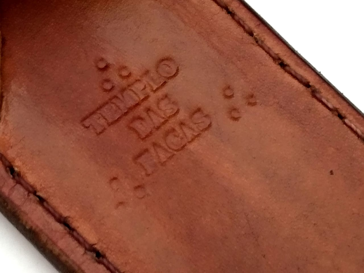 Faca artesanal gaúcha campeira integral aço inox 08 polegadas
