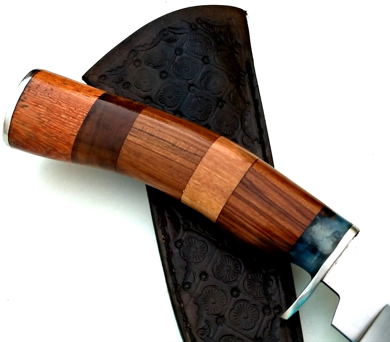Faca artesanal inox Hunter Sky Mix Wood