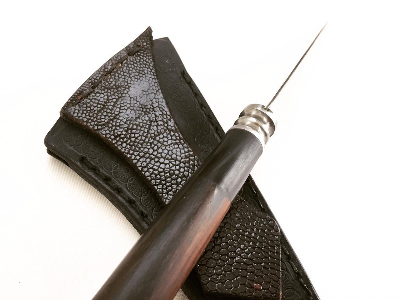 Faca artesanal tesoura de tosquia