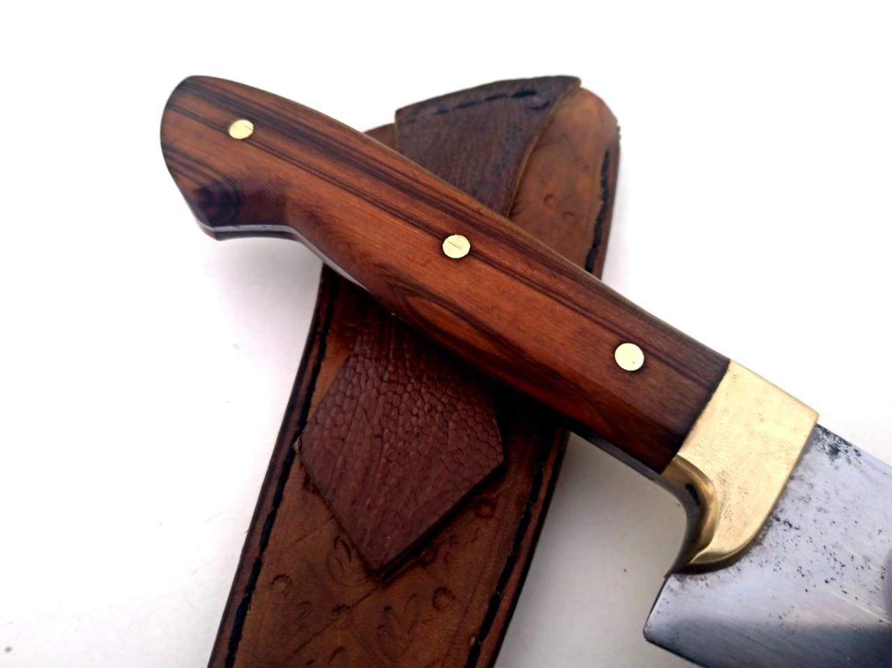 Faca artesanal tesoura de tosquia antiga