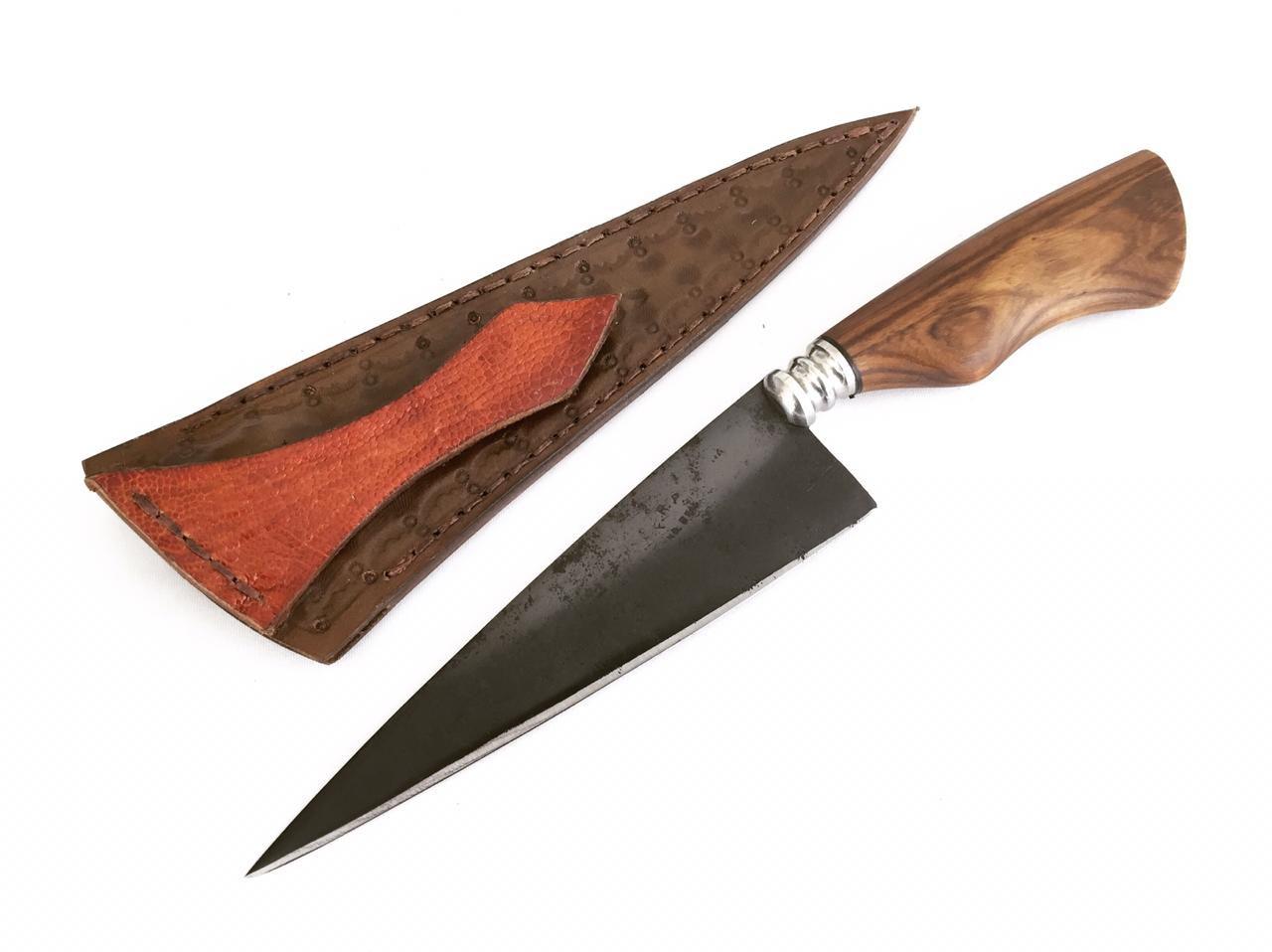 Faca artesanal tesoura de tosquia Herval