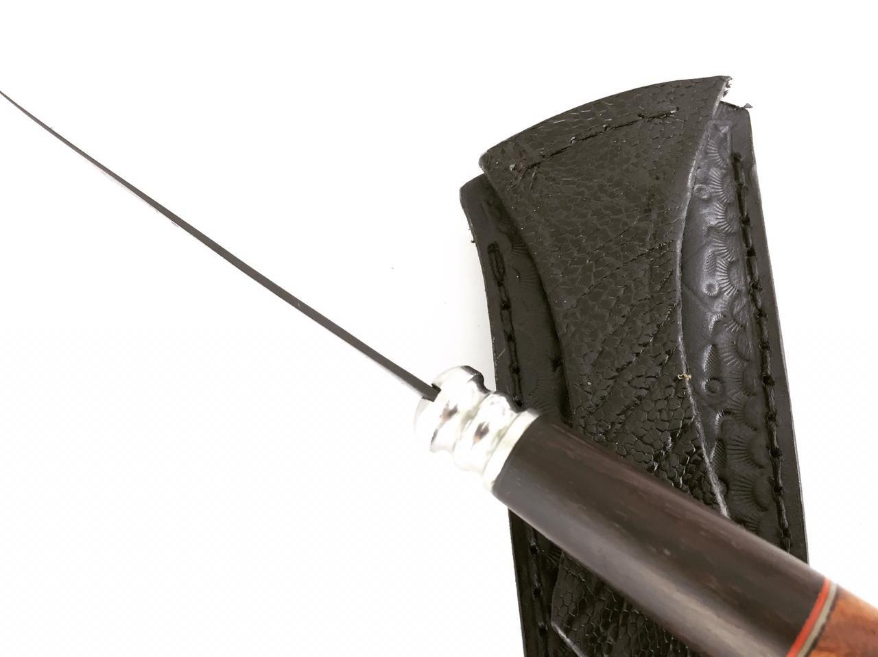 Faca artesanal tesoura de tosquia sem marca aparente