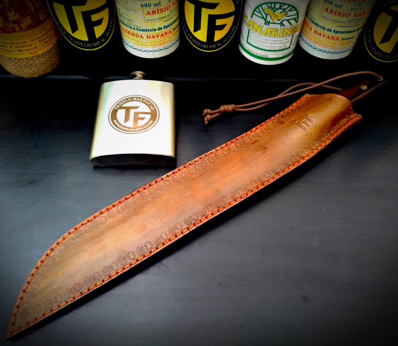 TF Facão sertanejo artesanal 13 polegadas