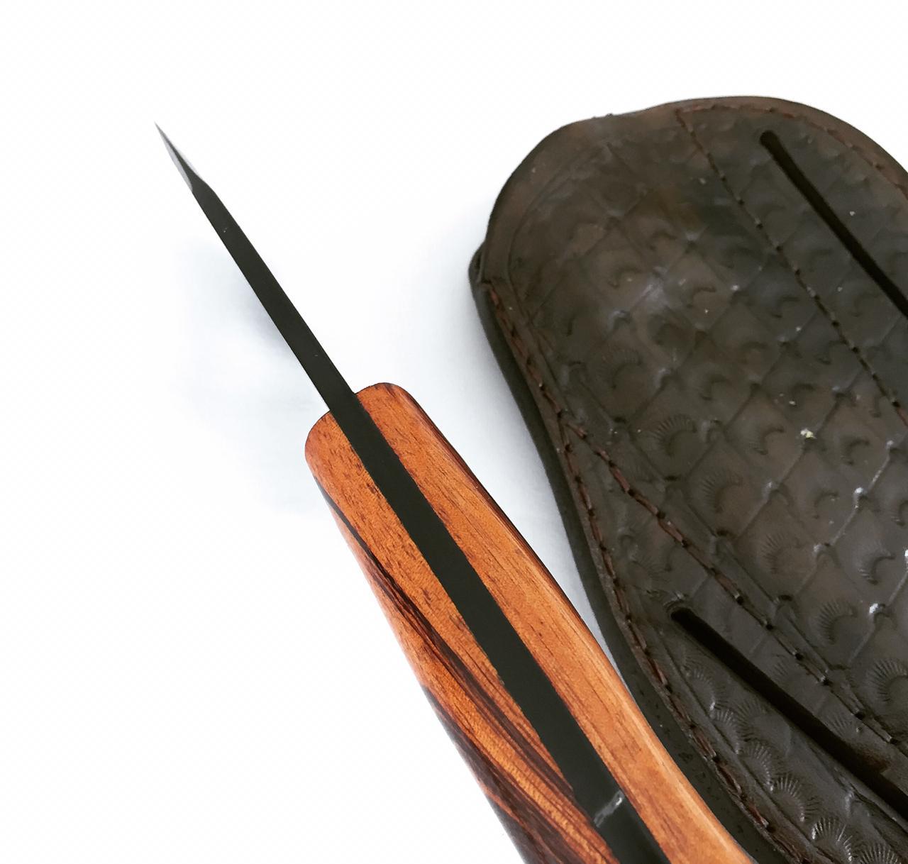 Faca artesanal utilitária full tang