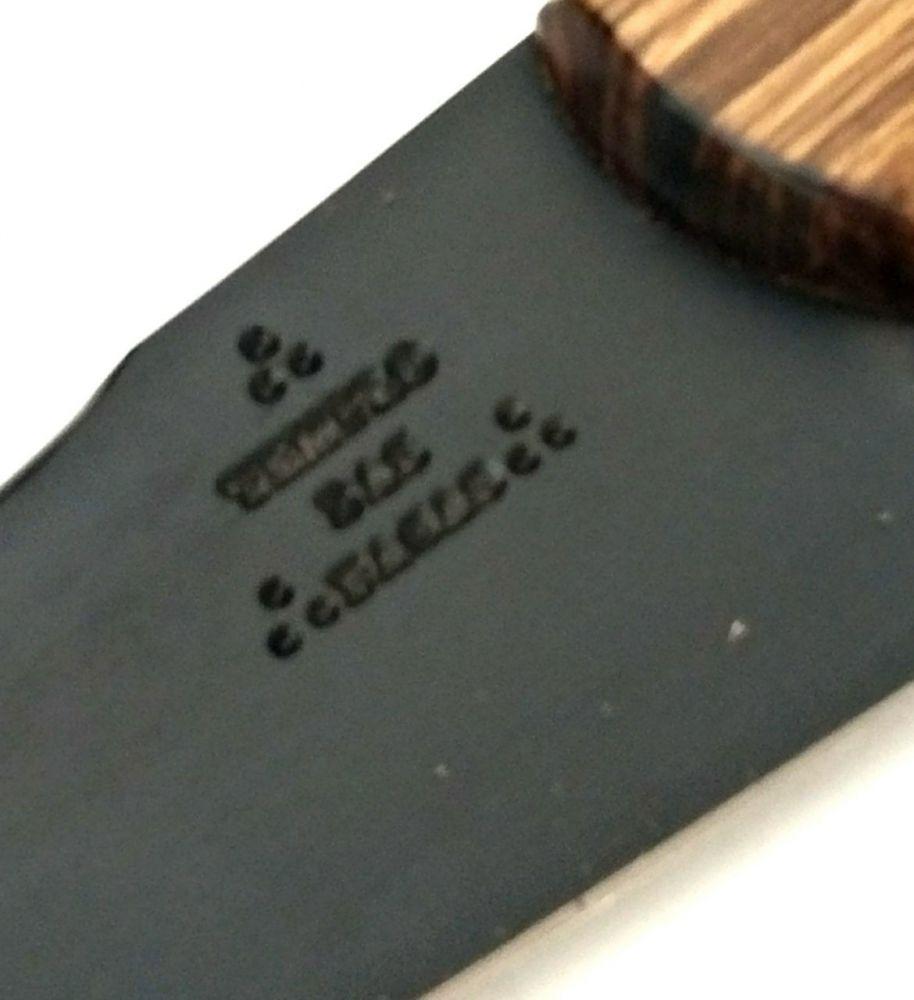 Faca artesanal de lida aço carbono 06 polegadas