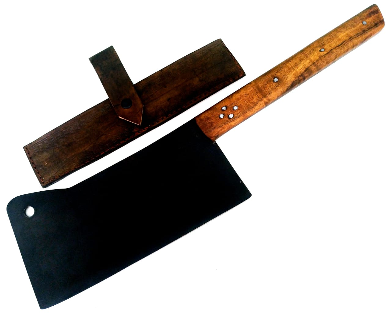Réplica de cutelo inglês artesanal forjado full tang