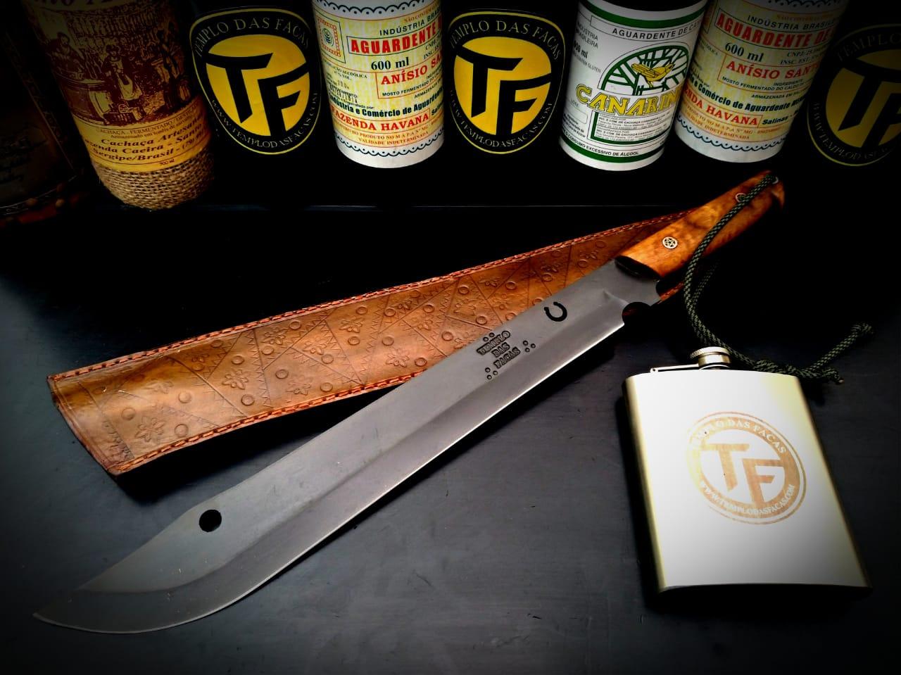 TF Facão artesanal tropeiro 13 polegadas