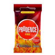 PRESERVATIVO PRUDENCE FIRE 03 UNIDADES