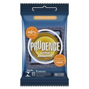 PRESERVATIVO PRUDENCE SUPER SENSITIVE MAIS FINO
