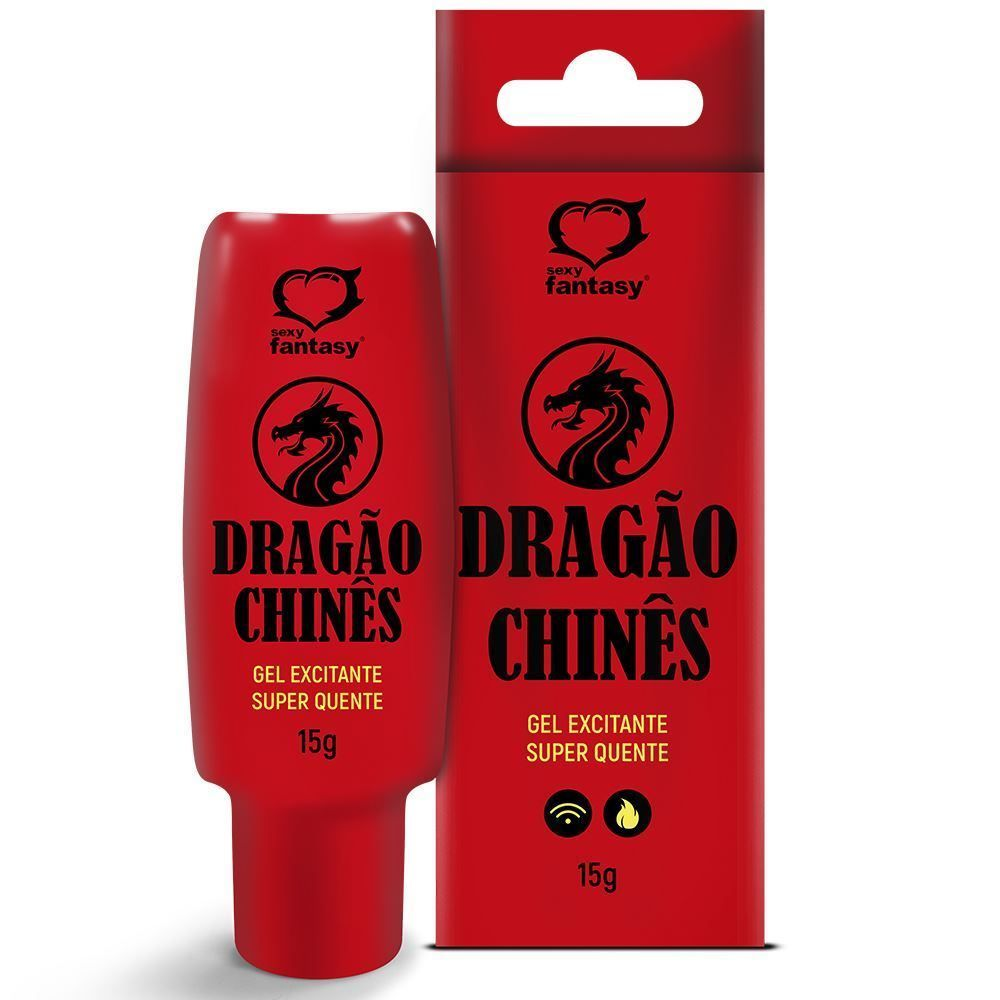 DRAGÃO CHINÊS GEL EXCITANTE QUE AQUECE
