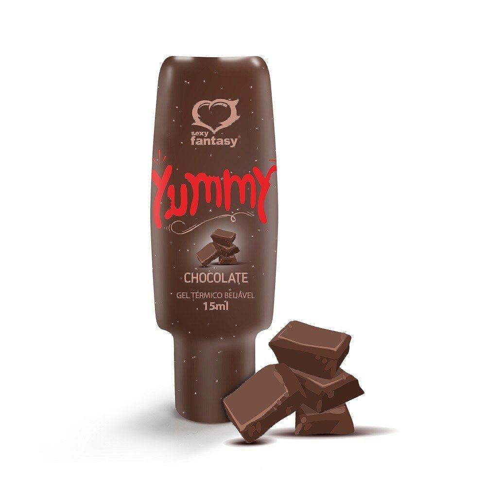 YUMMY GEL TÉRMICO COMESTÍVEL CHOCOLATE