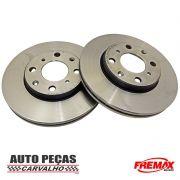 Disco de Freio Dianteiro (FREMAX) - Honda Fit - 2004 2005 2006 2007 2008 (todos os modelos)