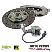 Kit Embreagem + Atuador Dualogic Linea/Bravo/Doblo/ideia/Palio/Palio Weekend/Punto/Grand Siena/Siena/Strada 1.6 16V / 1.8 16V (apenas motor E-torq) Luk Valeo
