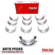 Jogo de Bronzina (TAKAO) Clio / Kangoo / Peugeot 206 / March / Versa (Todos 1.0 e 16 válvulas)