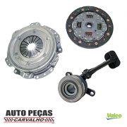 Kit de Embreagem (VALEO) + Atuador - Nissan Livina 1.6 16v - 2009 2010 2011 2012 2013 2014 2015 2016 2017 2018 2019 2020