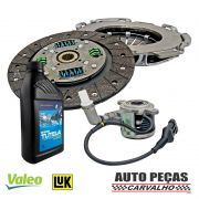Kit de Embreagem (VALEO) Dualogic + Atuador (LUK) + Óleo CS SPEED - Palio Weekend 1.6 16V / 1.8 16V  - 2010 2011 2012 2013 2014 2015 2016 2017 2018 2019