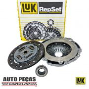 Kit Embreagem (LUK) - Volkswagen Crossfox 1.6 - 2003 2004 2005 2006 2007 2008 2009 2010 2011 2012 2013 2014 2015 2016