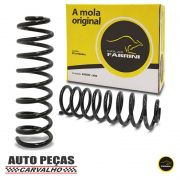 Par de Molas de Suspensão Dianteira (FABRINI) - Fiat Palio 1.0 / 1.3 / 1.4 / 1.5 - 2001 em diante